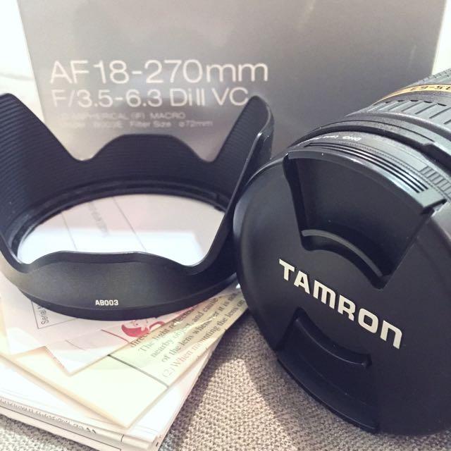 Tamron AF 18-270mm F3.5-6.3 Di II VC 中古二手鏡頭