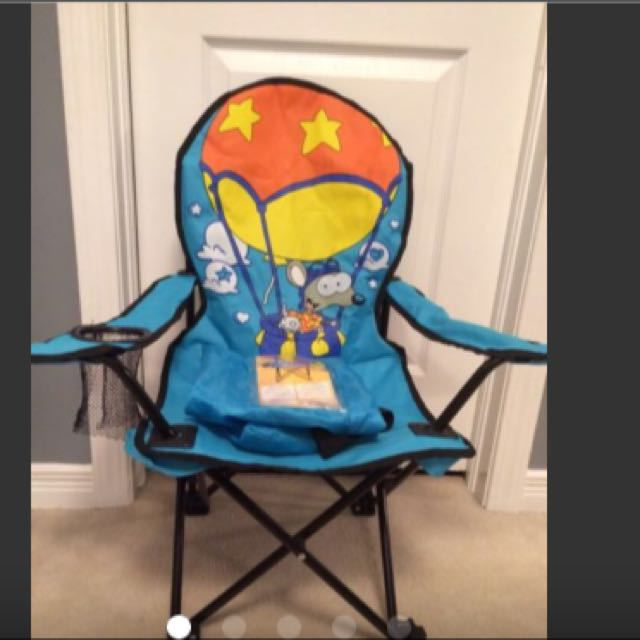 Toopy And Binoo Folding Chair With Carry Bag