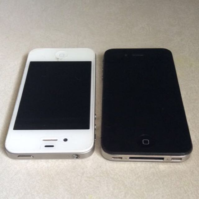 Two IPhone 4
