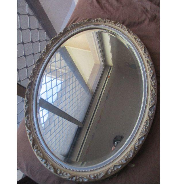 Vintage antique mirror