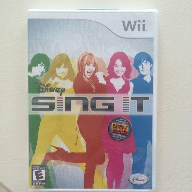Wii Disney Sing It - Fantastic for Karaoke Practice!!!