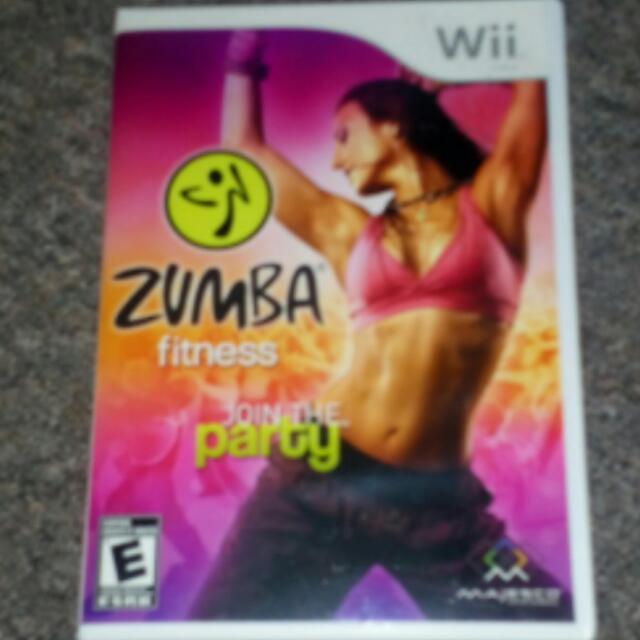 Zumba  Wii Game