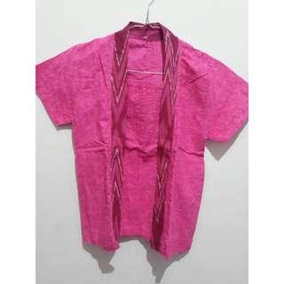 Kebaya Batik Pink