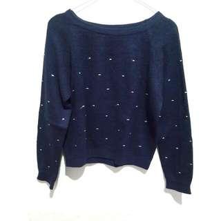Knit Jumper Dark Blue