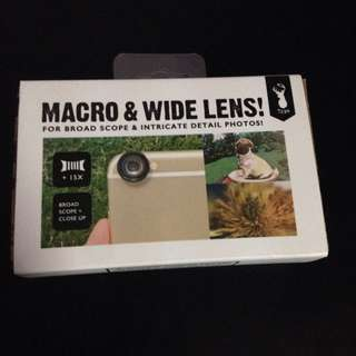Typo Macro & Wide Lens!