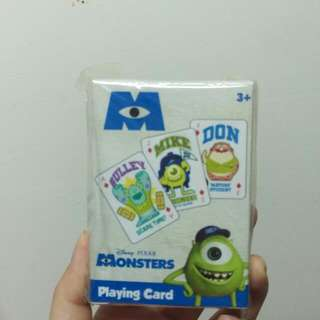 (Hold)怪獸大學 啤牌 Disney PIXAR MONSTERS Playing Card