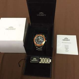 Orient Original(Mako XL Bezel Orange)