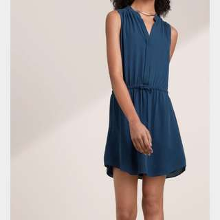 Babaton (Aritzia) Benedict Dress *BLACK NOT BLUE*