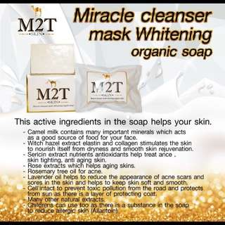 Miracle Cleanser Mask Whitening Organic Soap