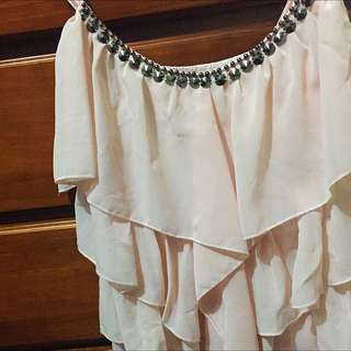 Pink Frill Multi Layered singlet Top