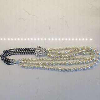 Stella & Dot Vintage-inspired Pearl Necklace