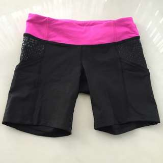 Lululemon Run: Dart And Dash Short Size 4