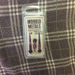 Brand New Morbid Metals Taper and Plug Set 4g