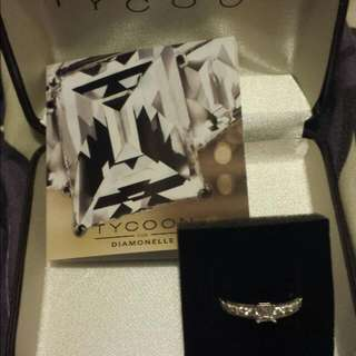 Tycoon by Diamonelle RING size 7