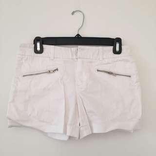 Club Monaco White shorts (original price: $55)