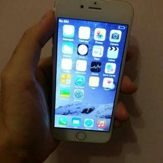 SELL or SWAP CLONE Iphone 6 32gb Gold Condition 9/10 Phone C/w Charger COD only