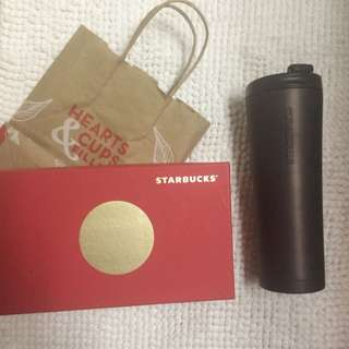 Large Starbucks Coffee Tumbler
