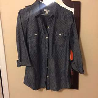 Full Sleeve Dotted shirt