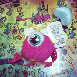 迪士尼 怪獸電力公司--紫色大眼仔