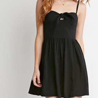 Forever 21 Tie Front Dress