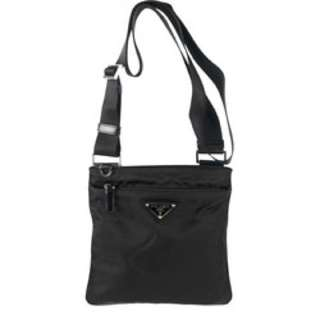 Prada Women's Mini Nylon Flat Messenger Bag