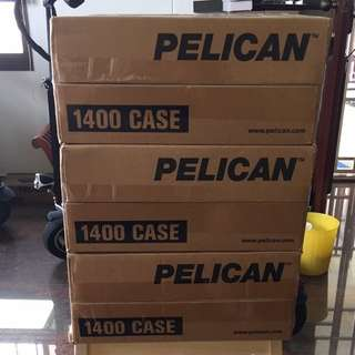 Pelican 1400 With Installation