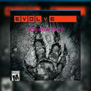 (Price Reduced) Evolve PS4 Game RM50
