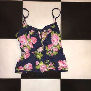 Abercrombie Floral Top