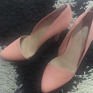Nude Pink New Look High Heels