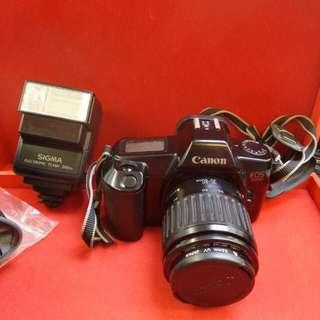Canon EOS 1000 / SIGMA FLASH