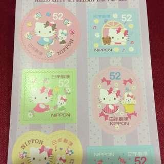 🚚 日本Hello Kitty郵票