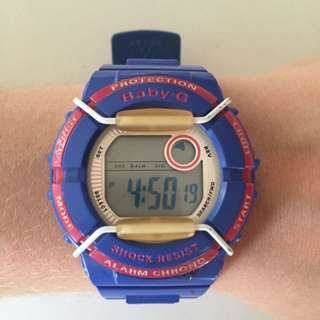 *AUTHENTIC* Baby- G Watch (BGD-120P)