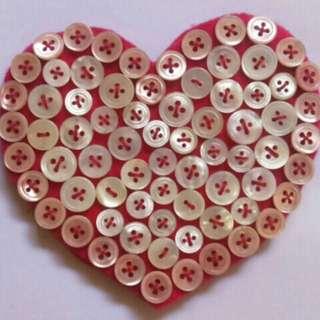 Shell Button Coaster
