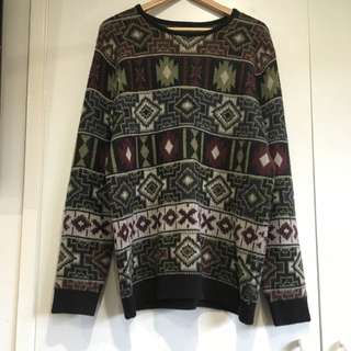 Vintage Knitted Jumper XL
