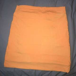 Orange Kookai Bandage Skirt Size 1