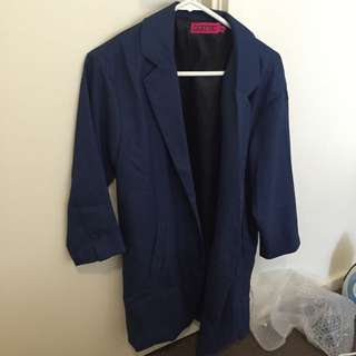Blue Duster Jacket