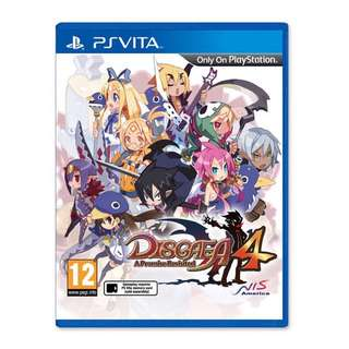 Looking For Disgaea 4 PS Vita