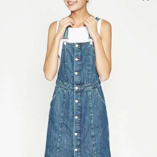 LOOKING FOR Zara 'I Love Denim' Dungaree
