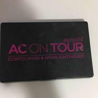 Australis AC On Tour Contour & Highlighting Kit