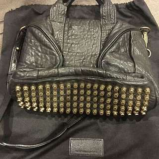Authentic Alexander Wang Rocco Back W/Gold Hardware