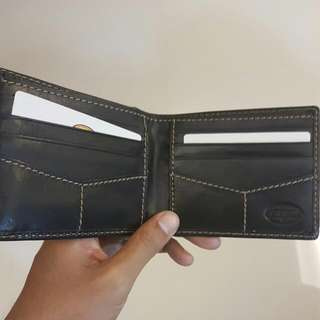 Genuine Fossil Leather Wallet