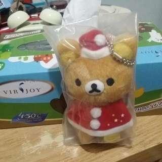 Rilakkuma 鬆弛熊聖誕版公仔