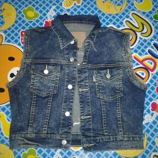 Xoxo Rompi/vest Jeans By Goodsdept