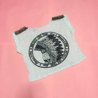 Mexico Tribe Cropped Top