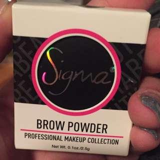 Sigma Brow Powder