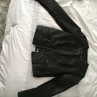 Dynamite Faux Leather Jacket