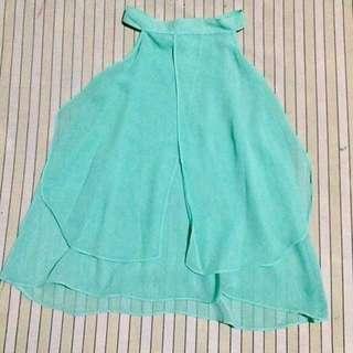 Turquoise Halter top