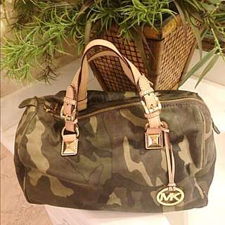 Micheal Kors Camouflage Bag