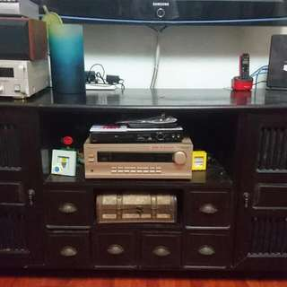 Solid Wood TV Console