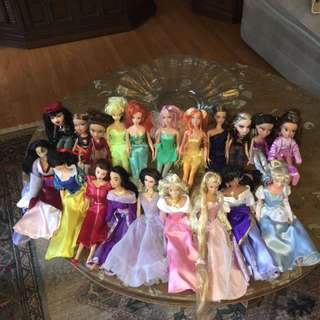Barbie BratZ And Fairy Dolls